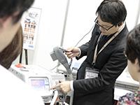エキシマ紫外線治療装置実演